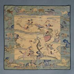 A Kesi-Woven Panel, Late Qing Dynasty