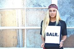 The Pro Surfer and beautiful model Sage Erickson is looking incredible in her BALR. Flag Shirt!  Altough we mostly support footballers we were happy to make an exeption for this American 23 years old lady.