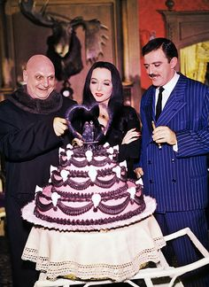beautyandterrordance:  The Addams Family, 1964, viavintagegal.