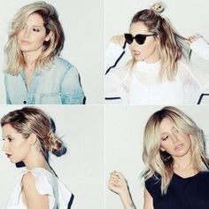 Ashley Tisdale: 4 Ways to Wear the Lob | StyleNoted