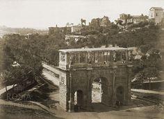 Piazza del Colosseo (1860)