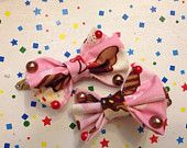 Cupcake Bows  https://www.etsy.com/shop/MischievousArtistry?page=3
