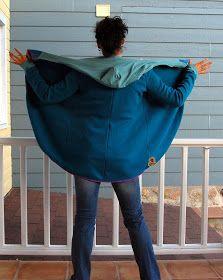 """Todo empezó con una foto que Linet """"Lílula""""  compartió en Instagram y en Facebook proponiéndonos coser una chaqueta con un patrón gratuito d..."""