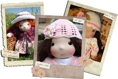 How to order a waldorf doll Waldorf Dolls, Hello Dolly, Custom Dolls, Kara, Banner, Crochet Hats, Sewing, Tips, Pattern