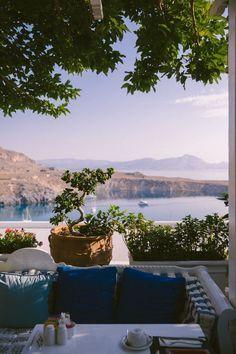 Greece Travel Inspiration - Melenos Lindos, Rhodes