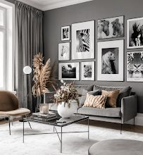 Gallery Wall Inspiration - Shop your Gallery Wall Inspiration Wall, Living Room Inspiration, Interior Design Living Room, Living Room Designs, Home Living Room, Living Room Decor, Beige Living Rooms, Bedroom Decor For Small Rooms, Home Decor