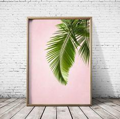 Palm Leaf Print Palm Leaves Palm Print Tropical by CosmicPrint