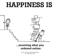 Seeing the delivery guy is one of the BEST feelings in the world 💕🙌💕😎🥰💥 Im Happy, Make Me Happy, Are You Happy, Happy Quotes, Me Quotes, Funny Quotes, Bath Quotes, Happiness Quotes, The Words