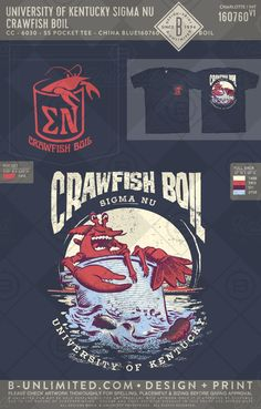 What's the best kind of boil? A crawfish boil #greekshirts #greektshirts #greek #greektees #greeklife #sorority #fraternity #sigmanu #crawfish #crawfishboil #rush #philanthropy #functions