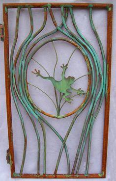 Garden Doors And Gates | Garden frog gate