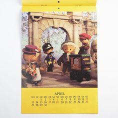 It's the beginning of a new month and so here is a new page of the Sandmännchen calendar from 1987... 31 years ago.   Heute ist der Beginn eines neuen Monats und so gibt es hier eine neue Seite im Sandmännchenkalender von 1987... vor 31 Jahren.   #ddrmuseum #ddrgram #instamuseum #instacollection #ddr #gdr #museum #berlin #calendar #april #aprilapril #aprilfools #sandman #sandmaennchen #johnblund #kalender #newmonth /mg