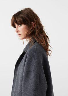 Handmade wool coat   MANGO