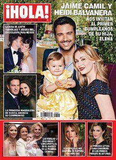 Jaime Camil y Heidi Balvanera nos invitan al primer cumpleaños de su hija, Elena