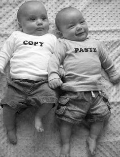Twins...