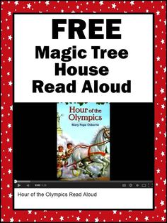 FREE Magic Tree House Read Aloud Hour of the Olympics Activities for Your Classroom
