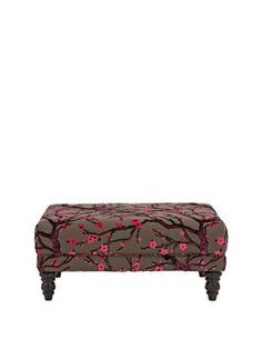 Fearne Cotton Melrose Blossom Footstool | very.co.uk
