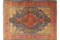 "Fine Antique Tabriz, 4'9"" x 6'3"" on OneKingsLane.com"