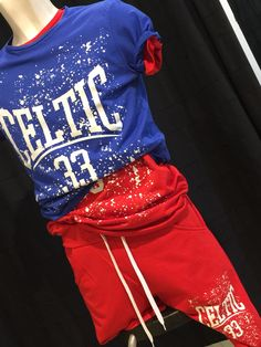 """Completo sport T shirt calzoncini """"Celtic"""""""