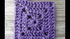 "WATCH How To Crochet ""EASIEST Granny Square There Is"" - YouTube"