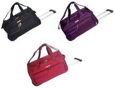Tosca Gold Ultralight Duffel Bag On Wheels Skate Wheels, Shoulder Sling, Inline, Casual Bags, Duffel Bag, Lady, Twin, Handle, Colours