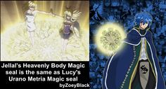 Well, you know, they are quite similar, the two magics.