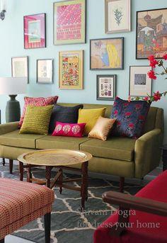Revisited: How Shivani Dogra dresses up homes | dress your home – Indian design, handloom & handicraft, interiors, Bangalore