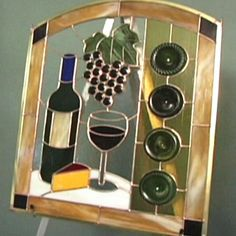 How to Make a Wine Bottle Stained Glass Panel | Easy Crafts and Homemade Decorating & Gift Ideas | HGTV