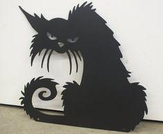 Chat Halloween intérieur / extérieur décoration 16 pouces | Etsy