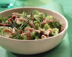 #LCHF #Banting #Lowcarb http://eatsmartweighless.com Just Add Bacon: The Best Ever Broccoli Salad