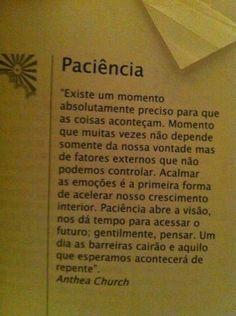 Paciência                                                       …