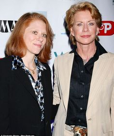 Dr Staci Gruber & wife, crime novelist Patricia Cornwell. (<--I KNEW Patricia Cornwell was gay! I knew it!! Just threw my arms up when I read it in a form of victory.)