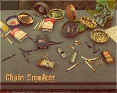 sims 4 drugs clutter - Google Search
