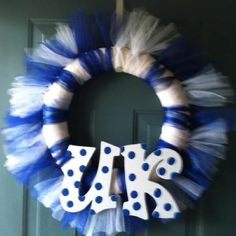 Kentucky Wildcats DIY Wreath!!!