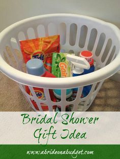 A Bride On A Budget: Bridal Shower Gift Idea