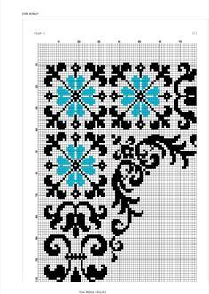 Funny Cross Stitch Patterns, Cross Stitch Borders, Modern Cross Stitch, Cross Stitch Flowers, Cross Stitch Designs, Cross Stitching, Cross Stitch Embroidery, Cross Stitch Landscape, Chart Design