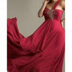 $131.73 Graceful One Shoulder Rhinestoned Women's Backless Brush Train Plus Size Prom Dress