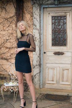 Sabina Top - Black – Style Addict