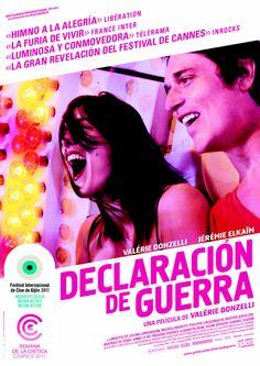 DVD CINE 2338 - Declaración de guerra (2011) Francia. Dir.: Valérie Donzelli. Drama. Familia. Sinopse: unha parella, Romeo e Julieta. Un neno, Adán. Unha loita, a enfermidade. E, sobre todo, unha gran historia de amor, a súa.