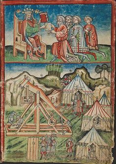 Ordnung des Hofgerichts zu Rottweil, ca 1435 - Württembergische Landesbibliothek HB VI 110, fol. Ibr