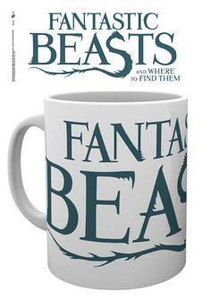 Taza logo Animales fantásticos y dónde encontrarlos  Bonita taza que con el logo del film Animales fantásticos y dónde encontrarlos y que será perfecta para el desayuno con capacidad para 300 ml, fabricada en material de cerámica y 100% oficial y licenciada. Ideal para regalar.