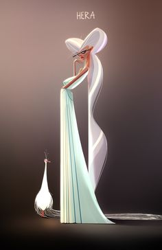The Character Design Challenge! Character Concept, Character Art, Concept Art, Character Design Animation, Character Design References, Character Illustration, Digital Illustration, Greek Mythology Art, Goddess Art