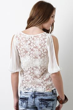 Ivory In Bloom Top $25.30