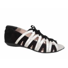 BEAUTIFEEL - MELODY - BLACK  Melody by BeautiFeel from Israel of Italian leathers.     Gladiator style lace up flat made of suede with patent contrast trim and velvet laces.     Enclosed heel provides additional support and stability.     Uniquely padded and supportive footbed for maximum comfort.   #beautifeel #flat