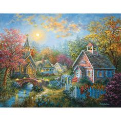 Sun's Out Nicky Boehme Moral Guidance 1000Pc Jigsaw Puzzle