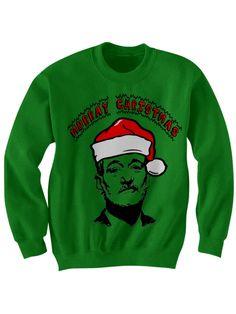 Bill Murray /'Murray Christmas/' Fan Art Christmas Sweater Christmas Jumper BFM