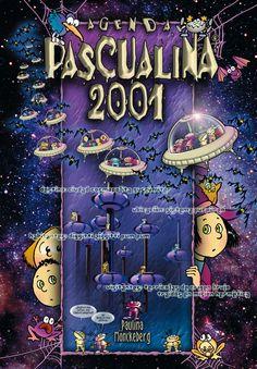 Agenda Pascualina 2001. Mi adolescencia.