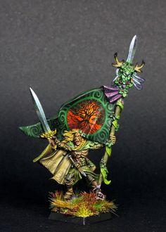Warhammer | Oldhammer | Wood Elves | BSB #warhammer #fantasy #battles…