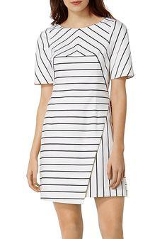 karen-millen-striped-dress