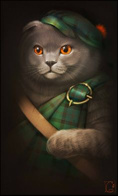 Scottish Fold by GaudiBuendia on DeviantArt