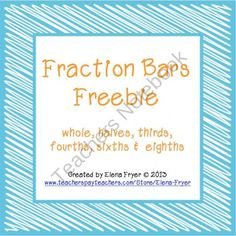 1000+ images about Math on Pinterest | Fractions, Math facts and Place ...